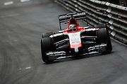 May 22, 2014: Monaco Grand Prix: Jules Bianchi, Marussia