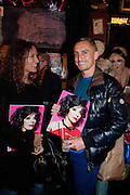 LULU KENNEDY; RICHARD NICOLL, Ponystep - issue 3 launch party, George and Dragon, 2-4 Hackney Road, London, E2.  April 5 2012.