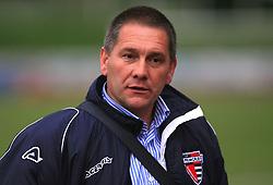 Coach of Primorje Vjekoslav Lokica at 29th Round of Slovenian First League football match between NK Interblock and NK Primorje at ZAK Stadium, on April 20, 2009, in Ljubljana, Slovenia. (Photo by Vid Ponikvar / Sportida)