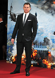 Channing Tatum attends the 'White House Down' Germany premiere at CineStar on Monday September 2, 2013 in Berlin, Germany. Picture Schneider-Press / John Farr / i-Images.<br /> UK & USA ONLY