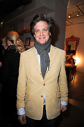 SAM GALSWORTHY at reception to raise funds for a Ugandan School Project supported by the Henry van Straubenzee Memorial Fund held at Few & Far, 242 Brompton Road, London SW3 on 11th February 2010.
