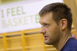 Goran Jagodnik during practice session of Slovenian National Basketball team during training camp for Eurobasket Lithuania 2011, on July 12, 2011, in Arena Vitranc, Kranjska Gora, Slovenia. (Photo by Vid Ponikvar / Sportida)