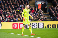 LONDON, ENGLAND - MARCH 31: Wayne Hennessey (13) of Crystal Palace during the Premier League match between Crystal Palace and Liverpool at Selhurst Park on March 31, 2018 in London, England.