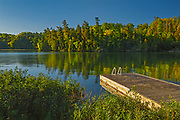 Dock at Crow Lake<br />