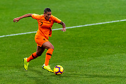 09-11-2018 NED: UEFA WC play-off final Netherlands - Switzerland, Utrecht<br /> European qualifying for the 2019 FIFA Women's World Cup - Shanice van de Sanden #22 of Netherlands