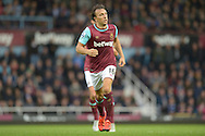 Mark Noble, the West Ham United captain in action. Barclays Premier League, West Ham Utd v Chelsea at The Boleyn Ground, Upton Park in London on Saturday 24th October 2015.<br /> pic by John Patrick Fletcher, Andrew Orchard sports photography.