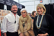 Ralph Rucci, Iris Apfel, Martha Stewart==<br /> Ralph Rucci S/S 2014 fashion show==<br /> The Theatre, Lincoln Center==<br /> September 08, 2013==<br /> ©Patrick McMullan==<br /> Photo - Harel Rintzler/PatrickMcMullan.com==<br /> ==