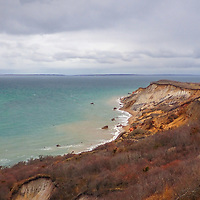New England seascape photography of the scenic Aquinnah Cliffs also known as Gay Head Cliffs at Aquinnah on Martha's Vineyard, Massachusetts.<br /> <br /> Martha's Vineyard Aquinnah Cliffs landscape photography images are available as museum quality photography prints, canvas prints, acrylic prints, wood prints or metal prints. Fine art prints may be framed and matted to the individual liking and decorating needs:<br /> <br /> https://juergen-roth.pixels.com/featured/marthas-vineyard-gay-head-cliffs-juergen-roth.html<br /> <br /> Good light and happy photo making!<br /> <br /> My best,<br /> <br /> Juergen
