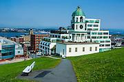 Walkway to the Halifax Town Clock, Halifax, Nova Scotia, Canada