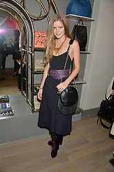 KATIE READMAN at a party hosted by Melissa Del Bono to celebrate the launch of her Meli Melo flagship store at 324 Portobello Road, London W10 on 28th November 2013.