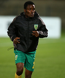 Danny Phiri of Golden Arrows during the 2016 Premier Soccer League match between Golden Arrows and Cape Town City FC held at the Prince Magogo Stadium in Durban, South Africa on the 14th September 2016<br /> <br /> Photo by:   Steve Haag / Real Time Images