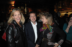 Left to right, ELISABETH MURDOCH daughter of Media <br />tycoon Rupert Murdoch, her husband MR MATTHEW FREUD and COUNTESS MAYA VON SCHONBURG at a party to celebrate the launch of Holly Peterson's debut novel 'The manny' held at Selfridges, Oxford Street, London on 26th February 2007.<br /><br />NON EXCLUSIVE - WORLD RIGHTS