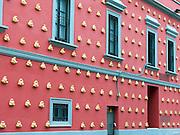 Exterior of the Salvador Dali Museum, Barcelona, Spain