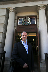 "© Licensed to London News Pictures. 9/05/2016. Belfast, Northern Ireland, UK. Gay rights activist Gareth Lee arrives at Belfast High Court for the start of an appeal hearing over gay marriage cake row with Ashers Baking Company. The legal appeal by Ashers Baking Company in the controversial 'gay cake' case is to be heard over two days. In May last year a judge at Belfast County Court ruled that the bakery had acted unlawfully. The court ordered Ashers to pay £500 damages after Judge Isobel Brownlie said the customer had been treated ""less favourably"" contrary to the law and the bakery had breached political and sexual orientation discrimination regulations. But the McArthur family who own and run Ashers decided to challenge the ruling following consultations with their legal advisors. The family has been given the full support of The Christian Institute, which has funded their defence costs. The legal case followed a decision in May 2014 by Ashers to decline an order placed at its Belfast store by a gay rights activist who asked for a cake featuring the Sesame Street puppets, Bert and Ernie, and the campaign slogan, 'Support Gay Marriage'. The customer also wanted the cake to feature the logo of a Belfast-based campaign group QueerSpace. Ashers, owned by Colin and Karen McArthur, refused to make the cake because it carried a message contrary to the family's firmly-held Christian beliefs. They were supported by their son Daniel, the General Manager of the company. But the Equality Commission for Northern Ireland (ECNI) launched a civil action against the family-run bakery, claiming its actions violated equality laws in Northern Ireland and alleging discrimination under two anti-discrimination statutes – The Equality Act (Sexual Orientation) Regulations (NI) 2006 and The Fair Employment and Treatment (NI) Order 1998. Photo credit : Paul McErlane/LNP"
