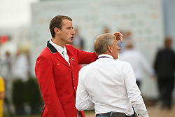 Wathelet Gregory, (BEL), Demeersman Dirk, (BEL)<br /> Individual Final Competition<br /> FEI European Championships - Aachen 2015<br /> © Hippo Foto - Dirk Caremans<br /> 23/08/15