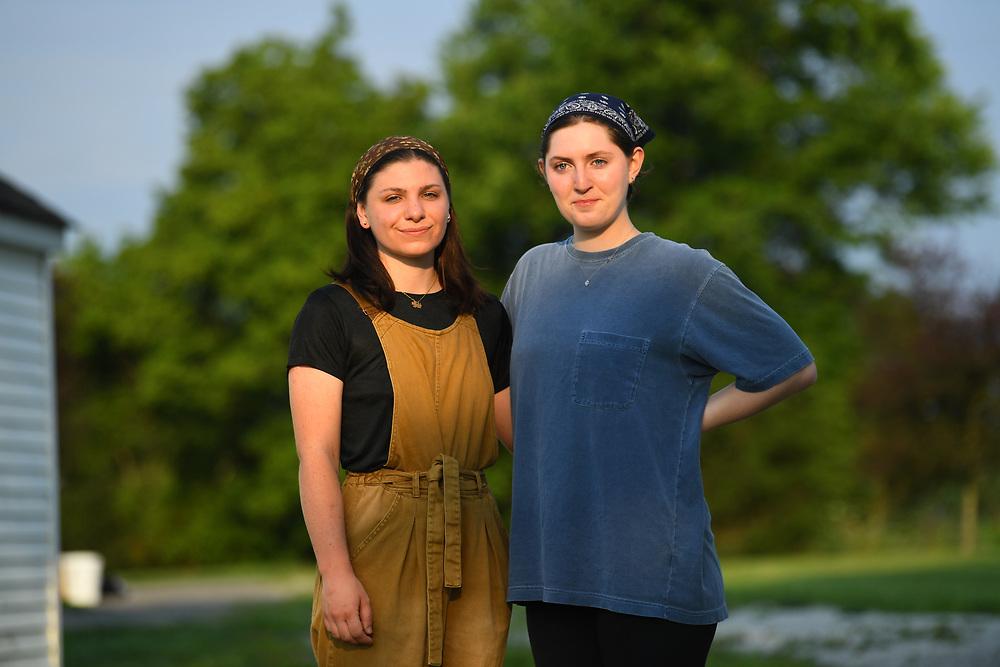 7/6/20 6:53:07 AM  -- Shai Bardin and Carolyn Rogers --    Photo by Jack Gruber