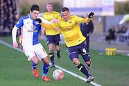 Oxford United v Blackburn Rovers 300116
