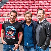NLD/Amsterdam/20170322 - Perspresentatie De Toppers: wild west, thuis best, Gerard Joling, Rene Froger en Jeroen van der Boom