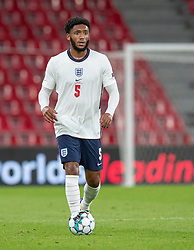 Joe Gomez (England) under UEFA Nations League kampen mellem Danmark og England den 8. september 2020 i Parken, København (Foto: Claus Birch).
