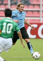 Fotball<br /> Copa America<br /> 30.06.2007<br /> Foto: imago/Digitalsport<br /> NORWAY ONLY<br /> <br /> Diego Forlan (Uruguay)