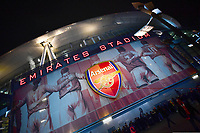 Football - 2019 / 2020 Premier League - Arsenal vs. Manchester United<br /> <br /> A detail of the stadium, The Emirates Stadium.<br /> <br /> COLORSPORT/ASHLEY WESTERN
