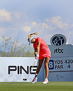 20 MAR15 Fan favorite Natalie Gulbis during Friday's Second Round of the JTBC Founder's Cup at The Wildfire Golf Club in Scottsdale, Arizona. (photo credit : kenneth e. dennis/kendennisphoto.com)