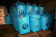 Nitram fertiliser bags stored in a barn