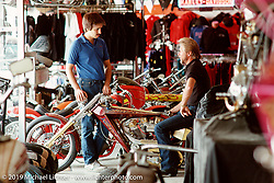 Arlen and Cory in the second store on East 14th Street, San Leandro, CA. Photograph ©Michael Lichter 1987