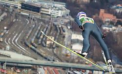 03.01.2013, Bergisel Schanze, Innsbruck, AUT, FIS Ski Sprung Weltcup, 61. Vierschanzentournee, Training, im Bild Andreas Kofler (AUT) // Andreas Kofler of Austria during practice Jump of 61th Four Hills Tournament of FIS Ski Jumping World Cup at the Bergisel Schanze, Innsbruck, Austria on 2013/01/03. EXPA Pictures © 2012, PhotoCredit: EXPA/ Juergen Feichter
