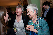 TRISH BESWICK; Dame Jacqueline Wilson, Mat Collishaw, Tracey Emin & Paula Rego: At the Foundling. Foundling Museum. Brunswick Square. London. 12 February 2010.