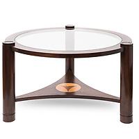 Ochre & Wood coffee table