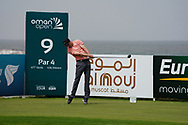 Ross Fisher (ENG) on the 9th during Round 1 of the Oman Open 2020 at the Al Mouj Golf Club, Muscat, Oman . 27/02/2020<br /> Picture: Golffile   Thos Caffrey<br /> <br /> <br /> All photo usage must carry mandatory copyright credit (© Golffile   Thos Caffrey)