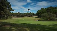 PORTUGAL - AROUIRA - Golfbaan Arouira II . Hole 18 . COPYRIGHT KOEN SUYK