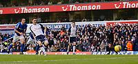 Photo: Daniel Hambury.<br />Tottenham Hotspur v Birmingham City. The Barclays Premiership. 26/12/2005.<br />Tottenham's Robbie Keane scores from the spot to make it 1-0.