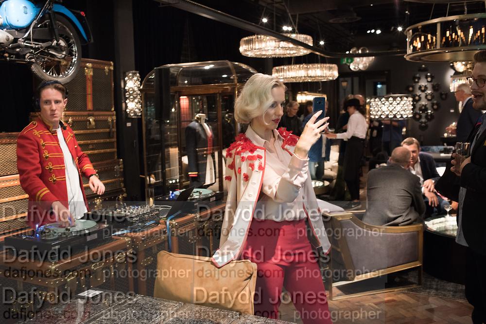 NIKA AMBROZIC URBAS, Timothy Oulton Flagship Gallery Grand Opening, Timothy Oulton Bluebird, 350 King's Rd. Chelsea, London.  19 September 2018