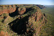 """Purnululu National Park or Bungle Bungles in Western Australia is a UNESCO World Heritage site. The """"beehives"""" area is the most famous part of this huge National Park which can be seen from above by helicopter."""