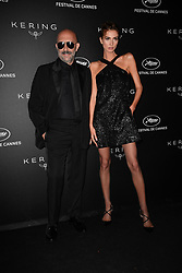 Gaspar Noe, Stefania Cristian attending the Kering Women In Motion dinner during 72nd Cannes Film Festival in Cannes, France on May 19, 2019. Photo by Julien Reynaud/APS-Medias/ABACAPRESS.COM