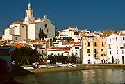 SPAIN, COSTA BRAVA Cadaques; resort and home of Dali