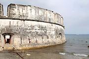 Old city walls Cartagena, Colombia