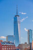 the World Trade Center one of the main Manhattan Landmarks in New York City USA