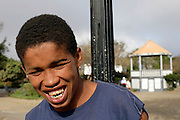 Sorriso (Smile) is the nickname of one of the characters better known by Bravas people. This adolescent is known to be a thieve and the population will always advise the tourist to be carefull.