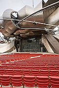 Jay Pritzker Pavilion at Millennium Park in Chicago USA