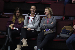 January 31, 2018 - Saint-Petersburg, Russia - Russian Federation. Saint-Petersburg. SIBUR-arena. Tennis. Tennis match. Tennis, St. Petersburg Ladies Trophy, Vera Zvonareva, Elena Ostapenko. WTA. (Credit Image: © Russian Look via ZUMA Wire)