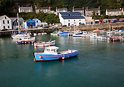 Port and small seaside resort of Porthleven, Cornwall, England