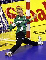 03.12.2008 Ohrid (FYR Macedonia)<br />Norway-Spain European women's handball championship<br />Haraldsen Katrine Lunde Norway goalkeeper <br />Foto:Aleksandar Djorovic
