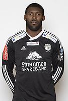 Fotball, 1. divisjon Addecoligaen , 2012 , portrett , portretter , <br /> Strømmen<br /> <br /> Duwayne Kerr