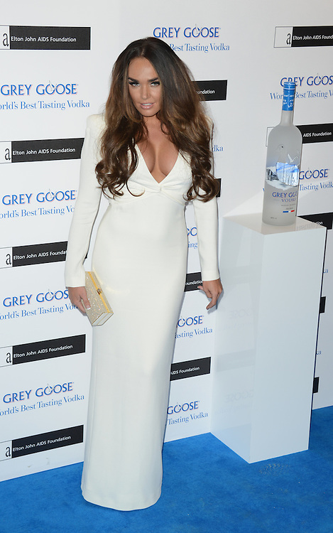 Tamara Ecclestone attends the Grey Goose Winter Ball to benefit the Elton John Aids Foundation held at the Battersea Powerstation, London, UK. 10/11/2012 Anne-Marie Michel/CatchlightMedia