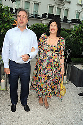 The HON.KIRSTIE ALLSOPP and BEN ANDERSON at the Tatler Summer Party, The Hempel Hotel, 31-35 Craven Hill Gardens, London W2 on 25th June 2008.<br /><br />NON EXCLUSIVE - WORLD RIGHTS