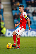 Fleetwood Town midfielder Jason Holt (4) during the EFL Sky Bet League 1 match between Gillingham and Fleetwood Town at the MEMS Priestfield Stadium, Gillingham, England on 3 November 2018.<br /> Photo Martin Cole