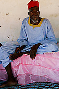 """The holy man in Bafata-Oio village, Aladji Fode Mai Toure. Locally known as """"Homem Grande"""", meaning 'great man', serving as a community and local leader. Half of the population are considered to be muslim."""